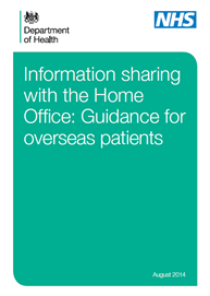 Information Sharing With The Home Office