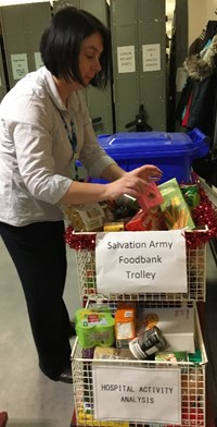 Foodbank Collection Continues