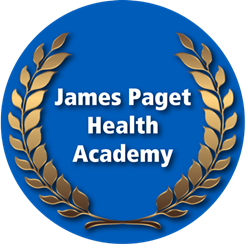 James Paget Health Academy Logo