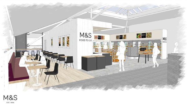 Paget to get new M&S as part of foyer redevelopment
